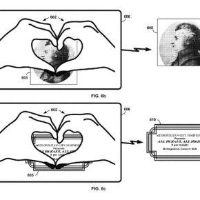 Les Google Glass seront contrôlées par nosgestes