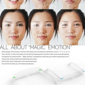 Lunettes intelligentes pour visagesinexpressifs