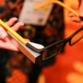 Lunettes connectées à réalité augmentée au CES 2014 : LumusDK40