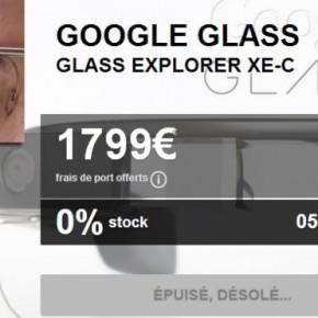 Raz-de-marée sur les Googleglass