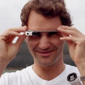 Dans la peau de Roger Federer avec les GoogleGlass
