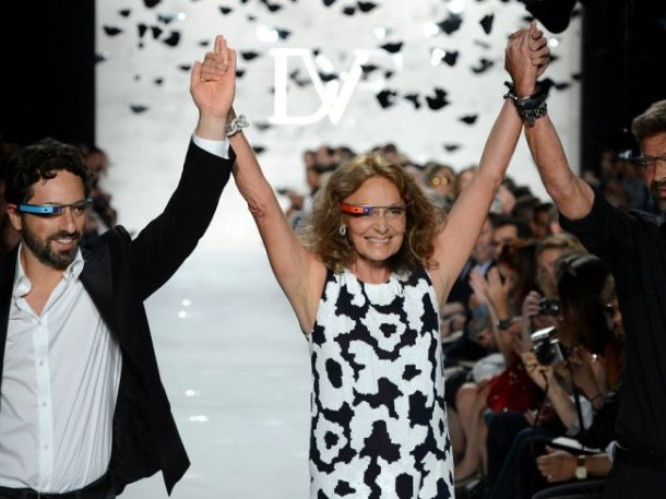 google-glass-diane-von-furstenberg-sergey-brin-fashion-week-1