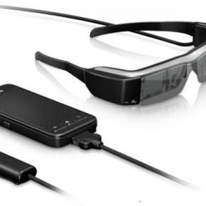 Epson Moverio : les lunettes connectées à l'assaut des GoogleGlass