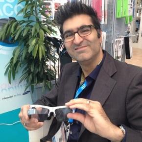 Kayvan Mirza, le petit Français qui voit grand avec ses lunettesintelligentes