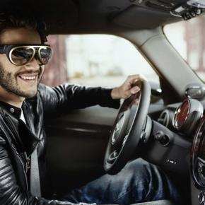 BMW lance MINI Augmented Vision : des lunettes à réalité augmentée pourconduire