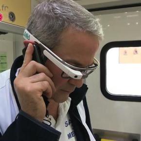 Des lunettes connectées auSamu