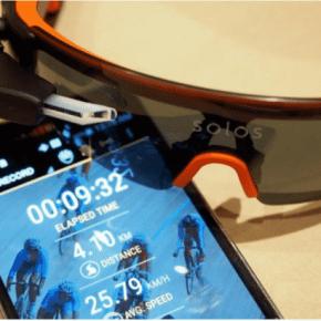 Solos, les lunettes de réalité augmentée pourcyclistes